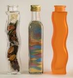 Stilvolle Flaschen Stockfoto