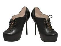 Stilvolle high-heeled Schuhe. stockfoto