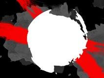Stilvolle Hintergründe in der Schmutzart in den schwarzen und roten Farben Lizenzfreie Stockfotos