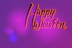 Stilvolle Karte für Halloween Stockfoto