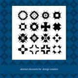 Stilvolle kreative geometrische Vektorzeichen Klagen für einbrennendes Logo Lizenzfreies Stockbild