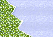 Stilvolle neuen scrapbooking Karte des Jahres oder des Weihnachten Stockfoto