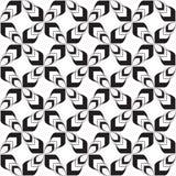 Stilvolle Pfeil-flippige Kreuz-modernes geometrisches keltisches Stammes- wiederholendes nahtloses Vektor-Muster-Hintergrund-Desi Stockbilder