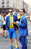 Stilvolle Schweden-Gebläse Lizenzfreies Stockfoto