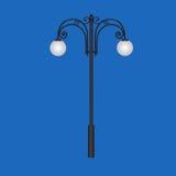 Stilvolle Stadtlampen Lizenzfreie Stockbilder