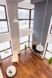Stilvolle Wohnung Stockfoto