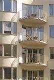 Stilvolle Wohnungen Lizenzfreies Stockbild