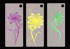 Stilvoller Blumenhintergrund Stockbild