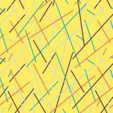 Stilvoller geometrischer gestreifter Hintergrund Lizenzfreie Stockbilder