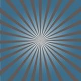 Stilvoller grauer abstrakter starburst u. Sonnendurchbruchhintergrund Lizenzfreie Stockfotografie