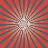 Stilvoller grauer abstrakter starburst u. Sonnendurchbruchhintergrund Stockbilder
