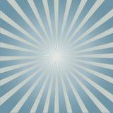 Stilvoller grauer abstrakter starburst u. Sonnendurchbruchhintergrund Stockfotografie