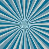 Stilvoller grauer abstrakter starburst u. Sonnendurchbruchhintergrund Lizenzfreie Stockbilder