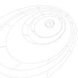 Stilvoller Hintergrund Digital-Schwarzweiss-Gitters, abstraktes Netz Lizenzfreies Stockbild
