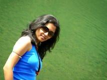 Stilvoller Inder Stockfoto