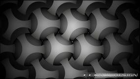 Stilvoller Metallhintergrund stock abbildung
