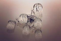 Stilvoller moderner Leuchter Stockbilder