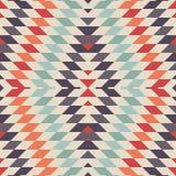 Stilvoller nahtloser Vektor-Stammes- Muster für Textildesign Stockbild