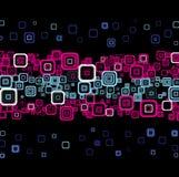 Stilvoller Neonhintergrund. Lizenzfreie Stockfotografie