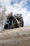 Stilvoller Radfahrer Lizenzfreie Stockfotos