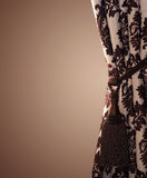 Stilvoller Trennvorhang stockfotografie