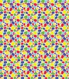 Stilvoller Verzierungshintergrund, Wiederholungsfliesen Nahtloses Farbe-mosai Lizenzfreie Stockfotografie