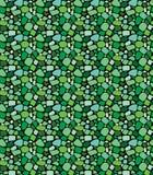 Stilvoller Verzierungshintergrund, Wiederholungsfliesen Nahtloses grünes mosai Lizenzfreie Stockfotos