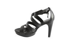 Stilvoller weiblicher Schuh Stockfotografie