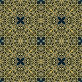 Stilvolles arabisches nahtloses Muster stockbild