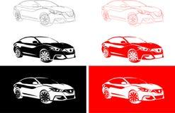 Stilvolles Auto Japans Lizenzfreie Stockbilder