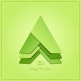Stilvolles Grün Stockfotos