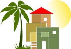 Stilvolles Haus Lizenzfreies Stockfoto