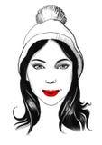 Stilvolles Hippie-Mädchen Lizenzfreie Stockfotografie