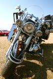 Stilvolles leuchtendes Motorrad Lizenzfreies Stockbild