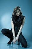 Stilvolles Mädchen Stockfotos