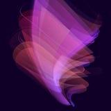 Stilvolles magisches Effektvektordesign Virtueller Schönheitsglanz-Zusammenfassungshintergrund Stockfotos