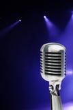Stilvolles Mikrofon Stockbild