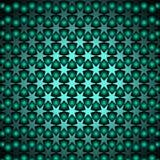 Stilvolles modernes grünes glänzendes Design mit stars6 Stockbilder