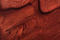 Stilvolles Muster des Makes-up auf einem weißen Hintergrund Stockbild