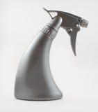 Stilvolles Plastiksprayrohr auf weißem Hintergrund lizenzfreies stockfoto