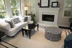 Stilvolles Wohnzimmer lizenzfreie stockbilder