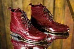 Stilysh mężczyzna buty Fotografia Stock