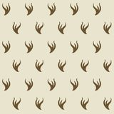 Stilyzed ermine fur seamless pattern. Appears as a lining for royalor judjes mantles. Represents authority and power. Element for designing Coats of arms stock illustration