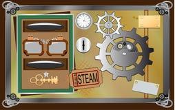 Stim-punk design element Royalty Free Stock Images