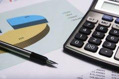 Stima e finanza fotografie stock libere da diritti