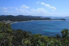 Stimfjärd, Nelson Bay Arkivbild