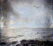 Stimme des Meeres Stockbild