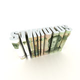 Stimulus Package. China Stimulus Package with Chinese Currency Royalty Free Stock Photos