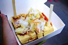Stincky Tofu (Chou Tofu) Royalty Free Stock Images