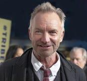 Sting bij 35ste Verjaardag van DIT IS RUGGEGRAATStap bij de Filmfestival van Tribeca van 2019 royalty-vrije stock afbeeldingen
